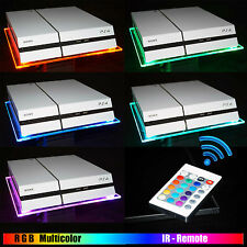 RGB LED USB Design acrílico plexiglas soporte stand Tablet ps4 PlayStation 4 ps3