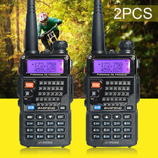 USA Stock 2pcs BAOFENG UV-5RE PLUS(UV-5R+) Two Way Radio Dual-Band Walkie Talkie