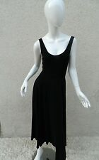 Reformation Dress Black Sexy Cotton Long Maxi dress Sz S