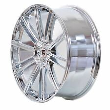 4 GWG Wheels 18 inch Chrome FLOW Rims fits ET20 FORD ESCAPE 2WD 4CYL. 2001-2012