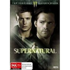 SUPERNATURAL-Season 11-DVD-Region 4-New AND Sealed-6 Disc Set-TV Series