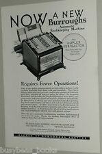 1925 Burroughs advertisement, Burroughs Duplex Subtractor Machine