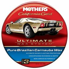 Mother's California Gold Ultimate Wax System Step 3 Pure Brazilian Carnauba Wax