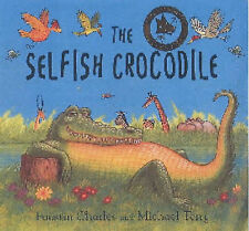 Acceptable, The Selfish Crocodile, Book and Soft Toy, Charles, Faustin, Book