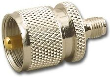 PL-259 TO SMA FEMALE ADAPTER LOW PRICE FREE SHIPPING 3 YR WARRANTY