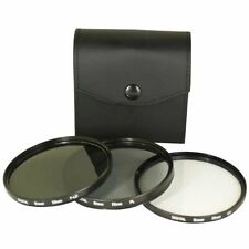 Bower 58mm 3pc Filter Kit High Resolution UV Polarizer Fld