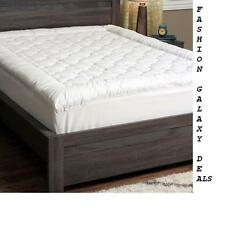 Mattress Topper Full Size Bed Pillow Top Soft Cool Fluffy Pad Only 2 LEFT