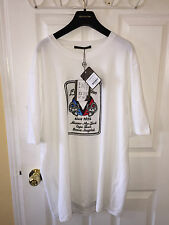 "AUTHENTIC MENS LOUIS VUITTON ""VARSITY MASK"" T SHIRT SIZE 4L"