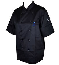 UNISEX Quality Chef Jacket Short Half Sleeves WITH PEN POCKETS Chefwear Coat