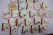 Lot of 23 p  Lady bug Lites earrings new old store stock Niobium sterling 14K GF