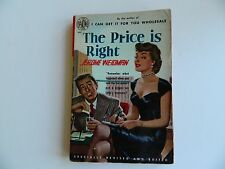 The Price is Right by Jerome Weidman, Avon #429, 1952