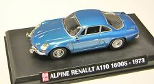 COLLECTION HACHETTE AUTO PLUS  IXO 1/43 ALPINE RENAULT A110 1600S 1973  /31