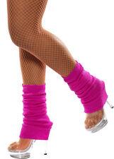 Retro Stulpen neon-pink NEU - Zubehör Accessoire Karneval Fasching