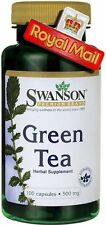 GREEN TEA 100 CAPSULES, 500mg Fat Burner Pill, Weight Loss ** AMAZING PRICE **