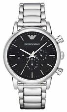 NEW EMPORIO ARMANI AR1894 MENS CHRONOGRAPH WATCH - 2 YEAR WARRANTY