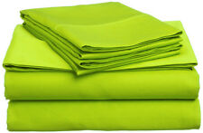 Microfiber Sheet Sets: Twin or Full Size, Bright Vivid Colors