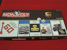 Monopoly UPS First Edition Minimal Use Missing one game piece.
