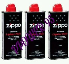 2× New 125ml Zippo Lighter Fluid Petrol Refill Fuel