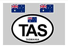 TASMANIA FLAG WINDOW / BUMPER STICKER FOR CAR BIKE CARAVAN TRAILER