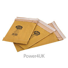 Gold Padded Jiffy Envelopes JL1 Size 170 x 245mm Genuine Airkraft x100