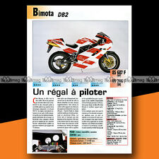 ★ BIMOTA 900 DB2 SR ★ 1995 Essai Moto / Original Road Test #a915