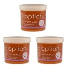 Hive Of Beauty Options Warm Wax 425G Pack Of 3 honey legs all over salon