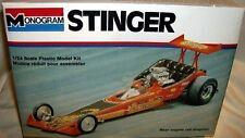 monogram 1/24 TOM DANIEL STINGER CUSTOM RAIL DRAGSTER