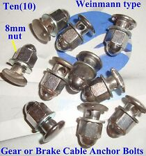 Weinmann type Road Bike Brake Cable Anchor Bolts - by Clarks of B'ham UK