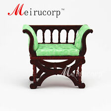 Fine 1:12 scale dollhouse miniature furniture High quality elegant  seat