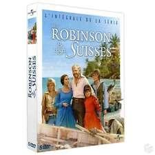 Coffret 5 DVD Les Robinson Suisses NEUF