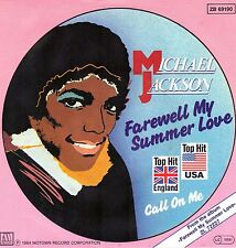 "7"" Michael Jackson – Farewell My Summer Love / Call On Me // Germany 1984"