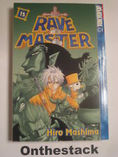 MANGA:  Rave Master Vol. 15 by Hiro Mashima (2005, Paperback)  In new condition!