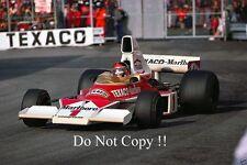 Emerson Fittipaldi McLaren M23 Monaco Grand Prix 1975 Photograph 4