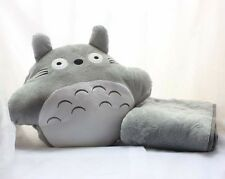 My Neighbor Totoro Traveling Cushion Cartoon Hand Warm and Blanket Pillow 3 In 1