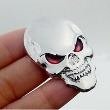 3D Metal Skull Bone Auto Car Decor Emblem Badge Decal Sticker Motorcycle Orament