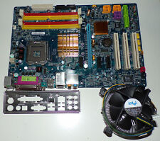 Gigabyte GA-965P-DS3 Sockel 775 ATX Quad-Core  DDR2-RAM Lüfter + Blende TOP!