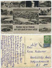 34589 - Konstanz liegt am Bodensee... - Echtfoto - Ansichtskarte, gelaufen