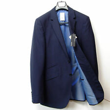 "New M&S AUTOGRAPH Fine WOOL BLEND Tailored BLAZER JACKET ~ Size 40"" Med. ~ NAVY"