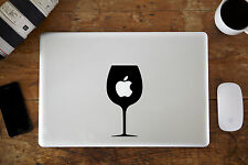 "Wine Glass Vinyl Decal Sticker for Apple MacBook Air/Pro Laptop 13"" 15"""