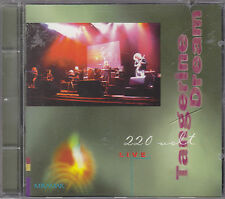 TANGERINE DREAM - 220 volt live CD