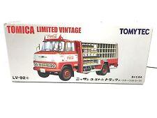 JAPAN TOMY TOMICA LIMITED VINTAGE COCA COLA COKE DELIVERY TRUCK NISSAN 3.5T