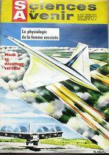 Sciences et avenir n°193  -1963 - La Physiologie de la femme enceinte - Mach 2
