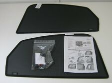 GENUINE AUDI A4 B8 SALOON ACCESSORY REAR DOOR WINDOW 2 PIECE SUN BLIND SHADE KIT