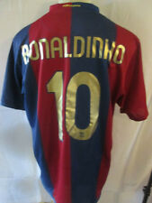 Barcelona Ronaldinho 10 2006-2007 Home Football Shirt Size Extra Large /34327