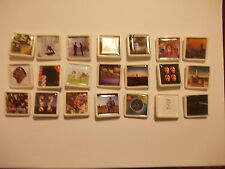 COLLECTION OF 21 DIFFERENT PINK FLOYD  ALBUM COVER BADGES /PINS FREEPOST IN  UK