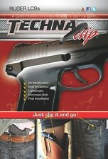 Techna Clip for Ruger® LC9s 9mm - IWB Belt Clip Technaclip LC9SBR (Right Side)