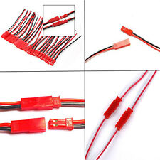 10 Pairs Cheap Plug JST socket Connector Cable Wire Line 10cm Male Female Sales
