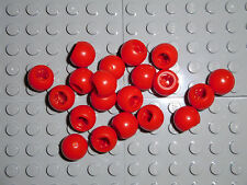 LEGO 20 Red Technic Mindstorms Ball Joints