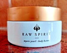 New 8oz RAW SPIRIT Mystical Pearl BODY BUTTER Cream Hint of Shimmer Lotion NOBOX