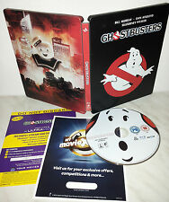 BLU-RAY GHOSTBUSTERS - STEELBOOK - IMPORT UK - AUDIO ITA
